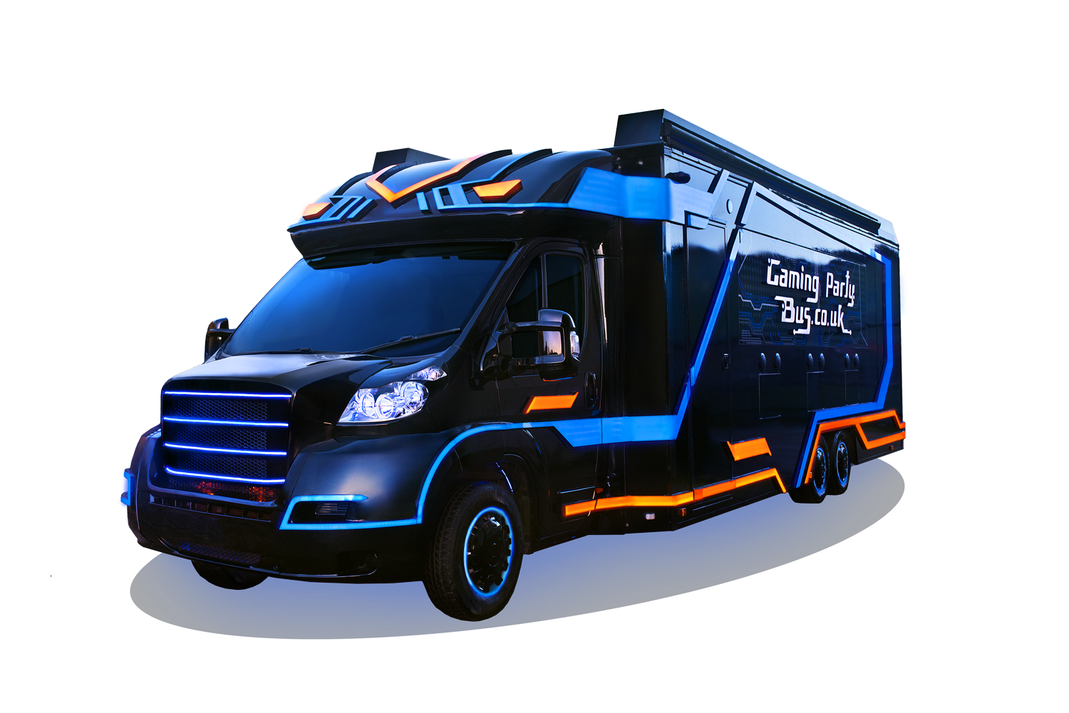 Gaming Party Bus Uk London S Mobile Video Game Wagon Kids Party Bus