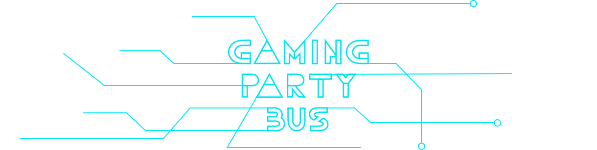 Gaming Party Bus Retina Logo